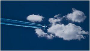 aircraft, cloud, sky